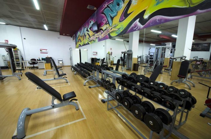 sala pesas progress fitness